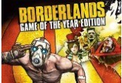 Borderlands: Game of the Year Edition RoW Steam CD Key