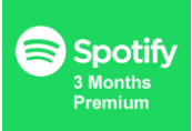 Spotify 1-month Premium Gift Card TR