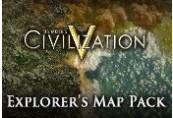 Sid Meier's Civilization V - Explorer's Map Pack DLC Steam Gift