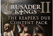 Crusader Kings II - The Reaper's Due Content Pack DLC RU VPN Required Steam CD Key