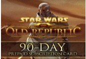 Star Wars: The Old Republic - 90-day Pre-paid Time Card