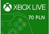 XBOX Live 70PLN Prepaid Card PL