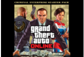 Grand Theft Auto V + Criminal Enterprise Starter Pack DLC + Megalodon Shark Cash Card Rockstar Digital Download CD Key