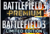 Battlefield 3 Limited Edition + Battlefield 3 Premium Pack Origin CD Key