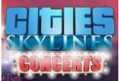 Cities: Skylines - Concerts DLC RU VPN Required Steam CD Key