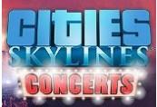 Cities: Skylines - Concerts DLC RU VPN Required Steam CD Key