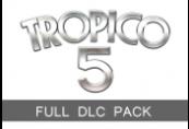Tropico 5 - Full DLC Pack Steam CD Key