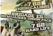 7,62 High Calibre + 7,62 Hard Life + Brigade E5: New Jagged Union Pack Steam CD Key