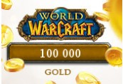 100 000 World of Warcraft NA Gold