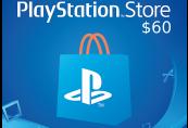 PlayStation Network Card $60 US