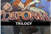 Deponia Premium Trilogy Steam CD Key