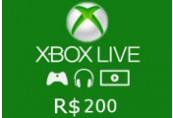 XBOX Live 200 BRL Prepaid Card BR