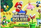 New Super Mario Bros U Deluxe EU Nintendo Switch CD Key