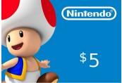 Nintendo eShop Prepaid Card $5 US Key