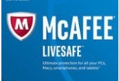 McAfee LiveSafe 2019 (3 Years / 1 Device)
