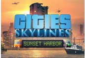 Cities: Skylines - Sunset Harbor DLC EU Steam Altergift