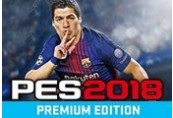 Pro Evolution Soccer 2018 Premium Edition EU Steam CD Key