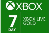 XBOX Live 7-day Gold Membership