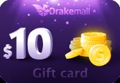 DRAKEMALL.COM $10 Gift Card