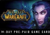 World of Warcraft 30 DAYS Pre-Paid Time Card US
