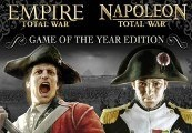 Empire and Napoleon Total War Collection - Game of the Year Steam CD Key