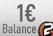 1 eurBalance
