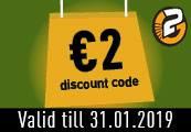 €2 Enigma Voucher - One per account!