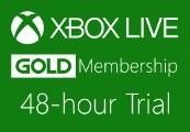 XBOX Live 48-hour Gold Trial Membership US/EU