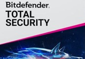 Bitdefender Total Security 2020 International Key (1 Year / 5 Devices)