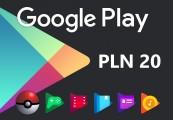Google Play PLN 20 PL Gift Card