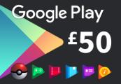 Google Play £50 UK Gift Card
