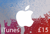 iTunes £15 UK Card