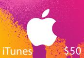 iTunes $50 US Card