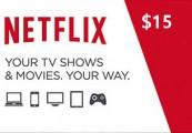 Netflix Gift Card $15 US
