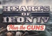 Hearts of Iron IV - Man the Guns DLC Steam CD Key