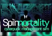 Spinnortality | cyberpunk management sim Steam CD Key