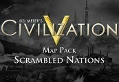 Sid Meier's Civilization V - Scrambled Nations Map Pack DLC Steam CD Key