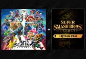 Super Smash Bros. Ultimate + Fighters Pass DLC US Nintendo Switch CD Key