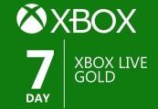 XBOX Live 7-day Gold Membership