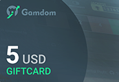 Gamdom $5 Giftcard