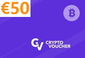 Crypto Voucher (BTC) 50 EUR Key