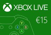 XBOX Live €15 Prepaid Card EU