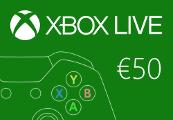 XBOX Live €50 Prepaid Card EU