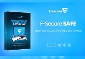 F-Secure SAFE CD Key (6 months / 3 devices)