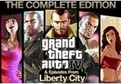 Grand Theft Auto IV Complete Edition Steam CD Key