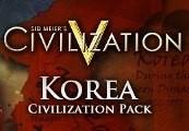 Sid Meier's Civilization V - Korean Civilization Pack DLC Steam CD Key