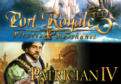 Port Royale 3 Gold and Patrician IV Gold - Double Pack Steam CD Key