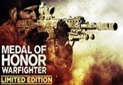 Medal of Honor Warfighter Limited Edition Origin CD Key