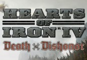 Hearts of Iron IV - Death or Dishonor DLC RU VPN Activated Steam CD Key