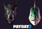 PAYDAY 2 - Lycanwulf and The One Below Masks DLC Steam CD Key